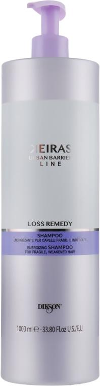 Szampon przeciw wypadaniu włosów stymulujący ich wzrost - Dikson Keiras Urban Barrier Loss Remedy Shampoo — фото N1