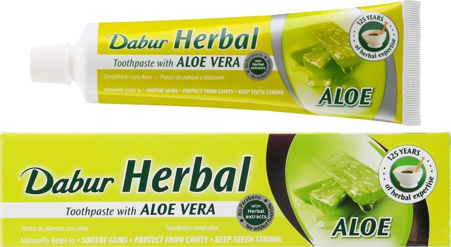 Pasta do zębów z aloesem - Dabur Herbal Aloe Vera Toothpaste