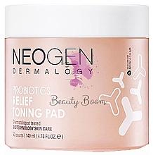 Kup Nawilżające płatki probiotyczne do twarzy - Neogen Dermalogy Probiotics Relief Toning Pad