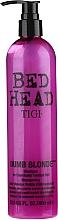 Kup Szampon do włosów zniszczonych i wypłowiałych - Tigi Bed Head Dumb Blonde Shampoo