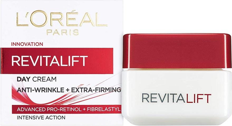 Przeciwzmarszczkowy krem do twarzy - L'Oreal Paris RevitaLift Anti-Wrinkle + Extra Firming Day Cream