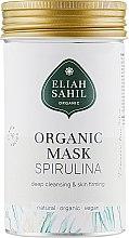Kup Organiczna maska głęboko oczyszczająca do twarzy, Spirulina - Eliah Sahil Mask