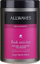 Kup Koloryzujący nabłyszczający puder do włosów - Allwaves Flash Mèches Bleaching Colouring Powder