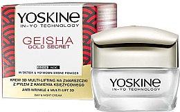 Kup Liftingujący krem przeciw zmarszczkom na dzień i na noc - Yoskine Geisha Gold Secret Anti-Wrinkle & Multi-Lift 3D Cream