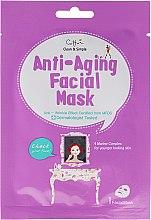 Kup Przeciwstarzeniowa maska na tkaninie do twarzy - Cettua Anti-Aging Facial Mask