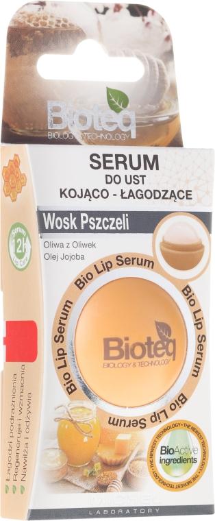 Kojąco-łagodzące serum do ust Wosk pszczeli - Bioteq