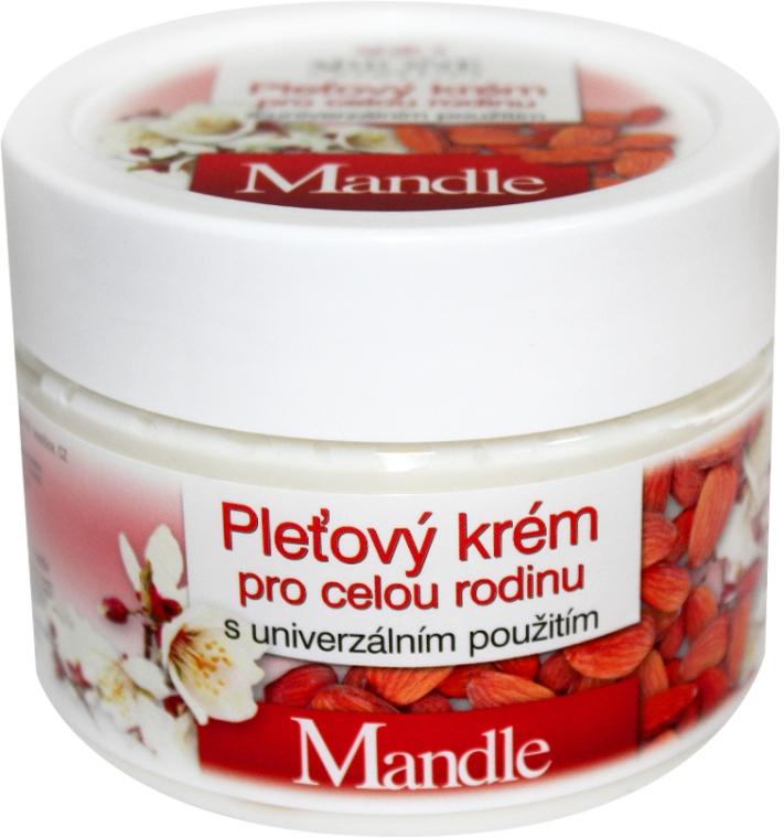 Uniwersalny krem rodzinny z olejem ze słodkich migdałów - Bione Cosmetics Mandle Cream