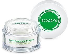 Sypki puder jęczmienny do twarzy - Ecocera — фото N3