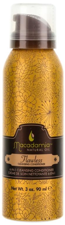Oczyszczająca odżywka w piance do włosów 6 w 1 - Macadamia Natural Oil Flawless — фото N1