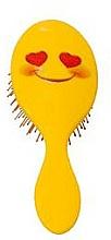 Kup PRZECENA! Szczotka do włosów 2003W, uśmiechnięta buźka - IDC Institute Design XL Detangle Brush*