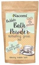 Kup Puder do kąpieli Zielona herbata - Nacomi Refreshing Green Tea Bath Powder