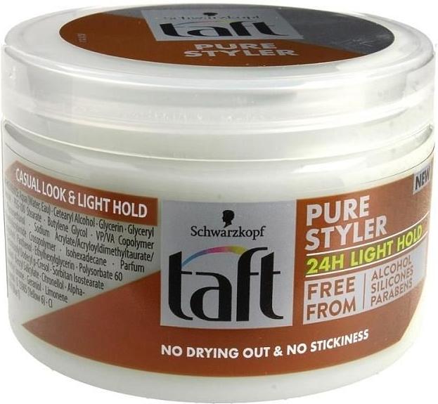Żel do stylizacji włosów - Schwarzkopf Taft Pure Styler 24h Light Hold — фото N1