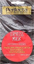 Kup Węglowa maska-detoks Matowienie i oczyszczenie - Perfecta Express Mask