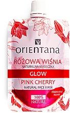 Kup Naturalna maseczka do twarzy Różowa wiśnia - Orientana Glow