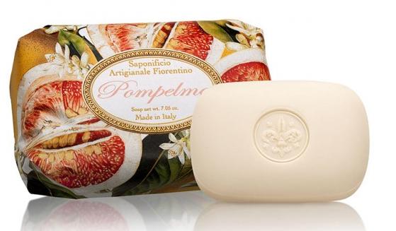 Mydło w kostce Grejpfrut - Saponificio Artigianale Fiorentino Grapefruit — фото N1