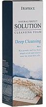 Kup Głęboko oczyszczająca pianka do włosów z ryżowym pudrem - Deoproce Natural Perfect Solution Cleansing Foam Deep Cleansing Rice