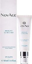Kup Rozjaśniający krem do twarzy na noc - Oriflame NovAge Bright Sublime Advanced Brightening Night Cream
