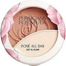 Kup Puder do twarzy - Physicians Formula Rosé All Day Set & Glow