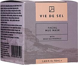 Kup PRZECENA! Błotna maseczka do twarzy z minerałami z Morza Martwego - Vie De Sel Facial Mud Mask *