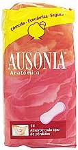 Kup Podpaski Anatomica Sanitary Towels, 14 szt. - Ausonia