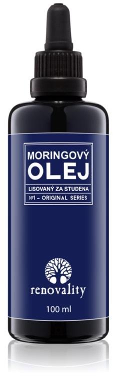 Olej moringa do twarzy i ciała - Renovality Original Series Moringa Oil — фото N1