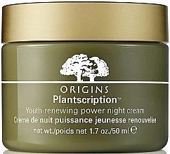 Kup Przeciwzmarszczkowy krem na noc do twarzy - Origins Plantscription Youth Renewing Power Night Cream