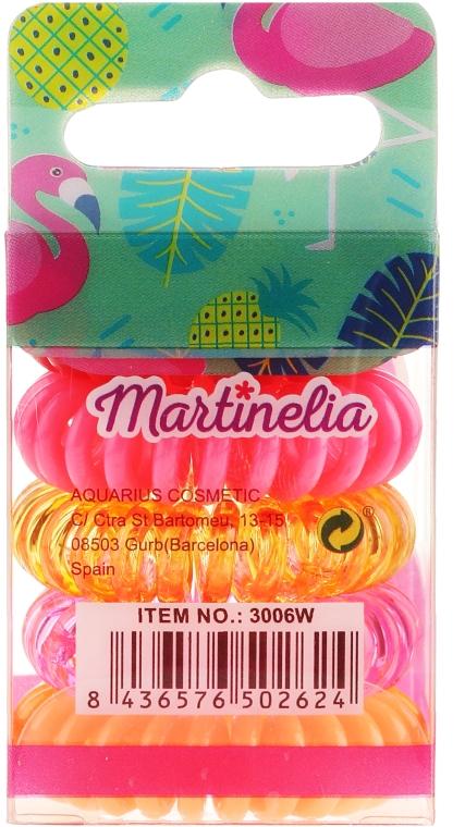 Gumki do włosów, Faming, 5 szt. - Martinelia — фото N2