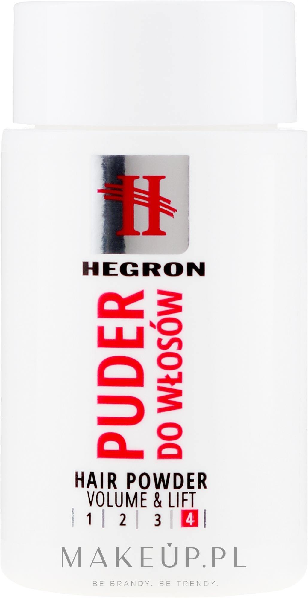 Puder do stylizacji dodający objętości i unoszący włosy - Hegron — фото 10 g