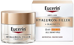 Kup Przeciwstarzeniowy krem na dzień do każdego rodzaju skóry - Eucerin Anti-Age Elasticity+Filler Day Cream SPF 30