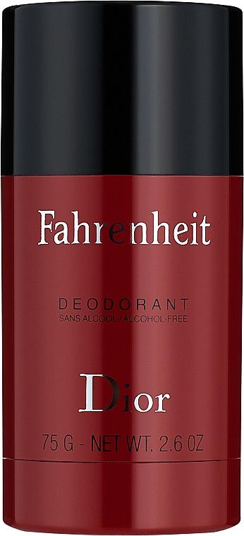 Dior Fahrenheit - Perfumowany dezodorant w sztyfcie dla mężczyzn