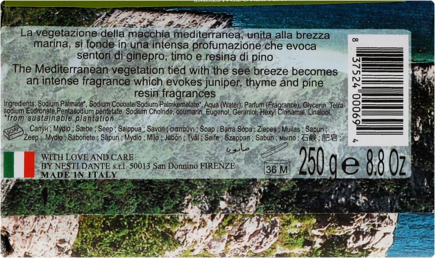 Naturalne mydło w kostce Śródziemnomorski dotyk - Nesti Dante Emozioni In Toscana Macchia Odorosa — фото N2