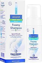 Szampon w piance do skóry atopowej - Frezyderm Atoprel Foamy Shampoo — фото N1