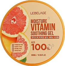 Kup Żel nawilżający z grejpfrutem - Lebelage Moisture Vitamin 100% Soothing Gel