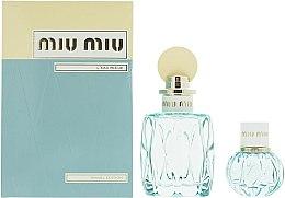 Kup Miu Miu L'Eau Bleue - Zestaw (edp 100 ml + edp 20 ml)