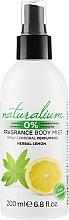 Kup Spray do ciała - Naturalium Herbal Lemon Body Mist