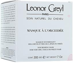 Kup PRZECENA! Maska do pielęgnacji włosów z kwiatów orchidei - Leonor Greyl Masque a L'orchidee *