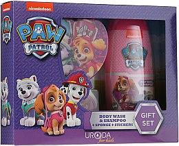 Kup Zestaw do kąpieli dla dzieci - Uroda Paw Patrol Girl (sh/gel/250ml + sponge + stickers)