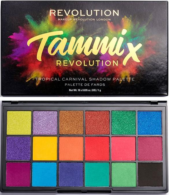 Paleta cieni do powiek - Makeup Revolution X Tammi Tropical Carnival Palette