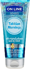 Kup Peeling do ciała z olejami monoi i makadamia i ekstraktem z pereł - On Line Senses Tahitian Morning