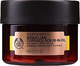 Kup Odżywczy peeling w oleju do ciała - The Body Shop Brazilian Cupuacu Scrub-in-oil