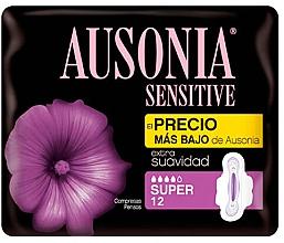 Kup Podpaski, 12 szt. - Ausonia Sensitive Super With Wings