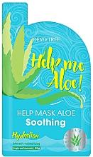 Kup Kojąca maska do twarzy - Dewytree Help Me Aloe! Soothing Mask