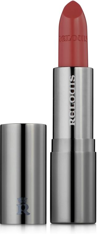 Satynowa szminka do ust - Relouis Sapphire — фото N1