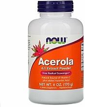 Kup Ekstrakt z aceroli na odporność - Now Foods Acerola 4:1 Extract Powder