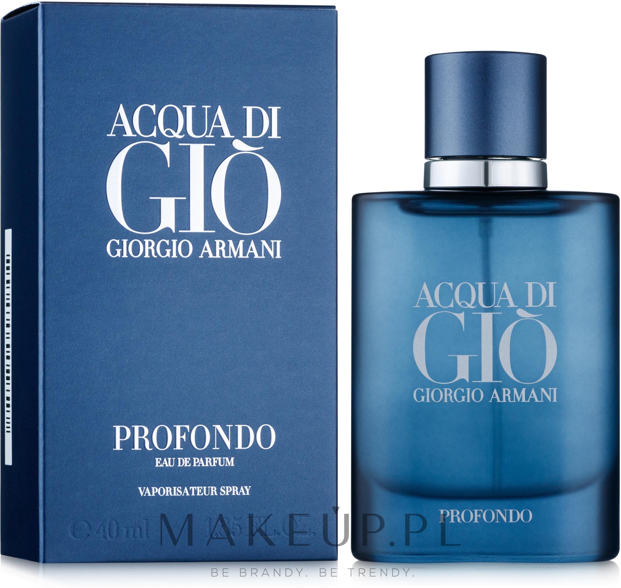 Giorgio Armani Acqua di Gio Profondo - Woda perfumowana — фото 40 ml