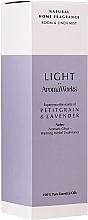 Kup Zapachowa mgiełka do domu Petitgrain i lawenda - AromaWorks Light Range Room Mist