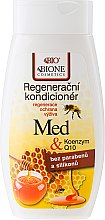 Kup Odżywka regenerująca do włosów Miód i koenzym Q10 - Bione Cosmetics Honey + Q10 Conditioner
