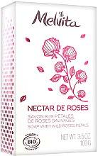 Kup Mydło w kostce z płatkami róż - Melvita Nectar de Roses Soap
