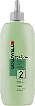 Kup Płyn ondulacyjny do włosów porowatych i farbowanych - Goldwell Topform 2
