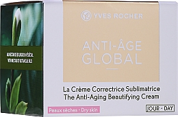 Przeciwzmarszczkowy krem do twarzy na dzień - Yves Rocher Anti-Age Global Face Cream — фото N2